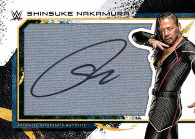 Auto Oversized Mat Relics Shinsuke Nakamura MOCK UP