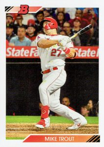 Base Mike Trout MOCK UP