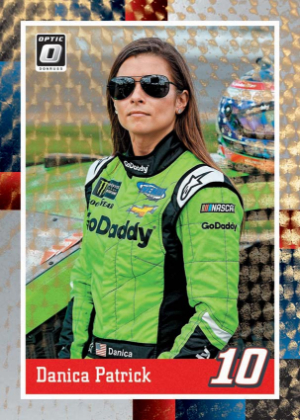 Base Optic Retro 1988 Gold Vinyl Danica Patrick MOCK UP