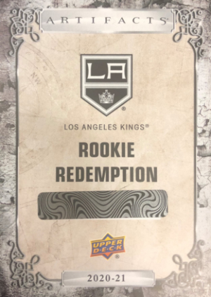 Base Rookie Redemption Los Angeles
