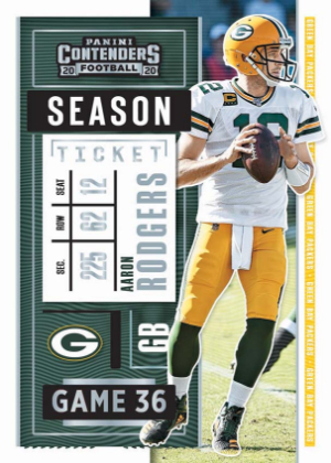 Base Season Ticket Aaron Rodgers MOCK UP