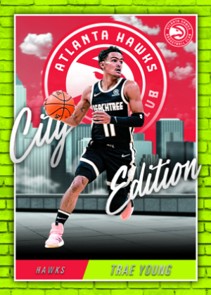 City Edition Trae Young MOCK UP