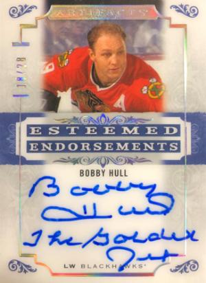 Esteemed Endorsements Auto Bobby Hull