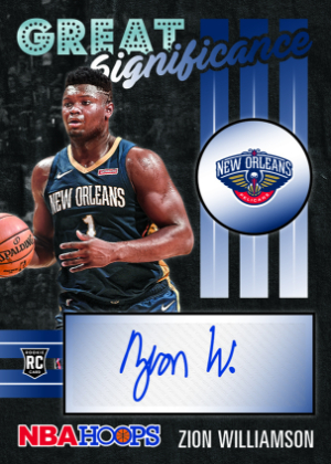 Great SIGnificance Zion Williamson MOCK UP