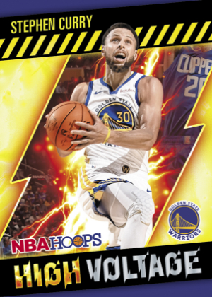 High Voltage Stephen Curry MOCK UP