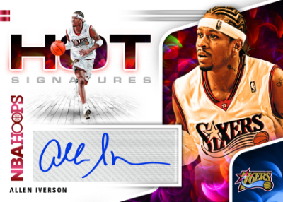 Hot Signatures Red Hot Allen Iverson MOCK UP