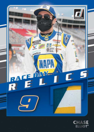 Race Day Relics Black Chase Elliot MOCK UP