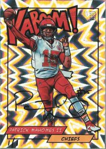 Recollection Collection Buyback Auto Patrick Mahomes II MOCK UP