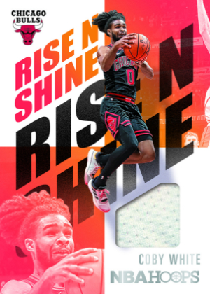 Rise N Shine Memorabilia Coby White MOCK UP