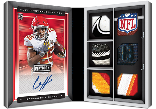 Rookie Signature Locker Premium Clyde Edwards-Helaire MOCK UP