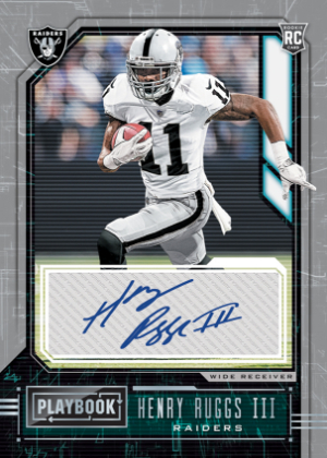 Rookie Signatures Henry Ruggs III MOCK UP