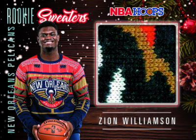 Rookie Sweaters Zion Williamson MOCK UP