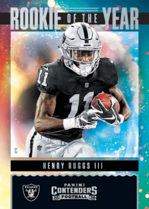 Rookie of the Year Contenders Henry Ruggs III MOCK UP
