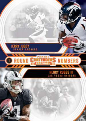 Round Numbers Jerry Jeudy, Henry Ruggs III MOCK UP