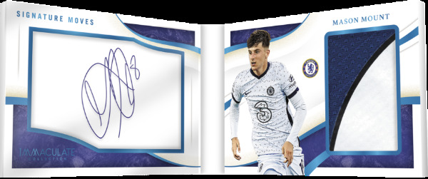 Signature Moves Jersey Auto Booklet Mason Mount MOCK UP
