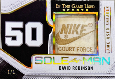 Sole Man Gold David Robinson