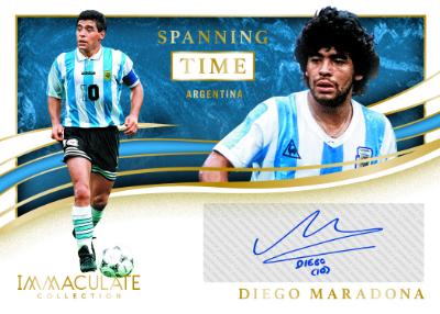 Spanning Time Auto Diego Maradona MOCK UP