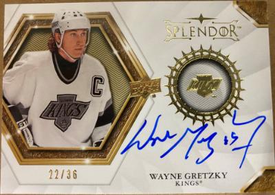 2019-20 Splendor Wayne Gretzky