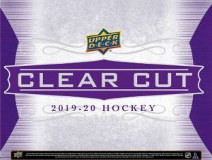 2019-20 UD Clear Cut Hockey