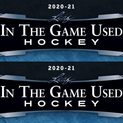 2020-21 Leaf ITG Used Hockey