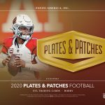 2020 Panini Plates & Patches Football