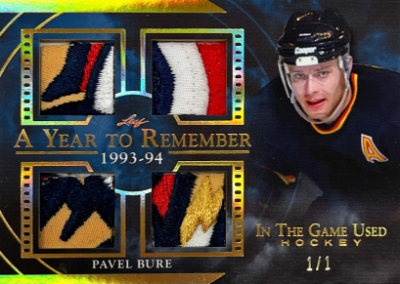 A Year to Remember Gold Pavel Bure