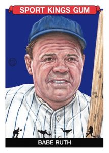 Base Babe Ruth MOCK UP