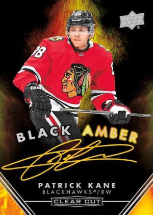 Black Amber Auto Patrick Kane MOCK UP