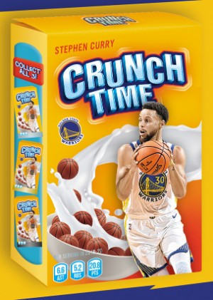 Crunch Time Stephen Curry MOCK UP