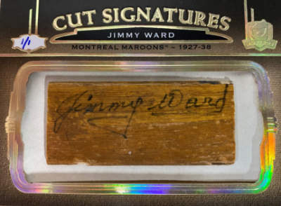 Cut Signatures Jimmy Ward