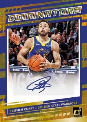 Dominators Signatures Gold Stephen Curry MOCK UP