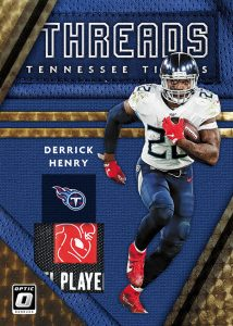 Donruss Threads Gold Vinyl Derrick Henry MOCK UP