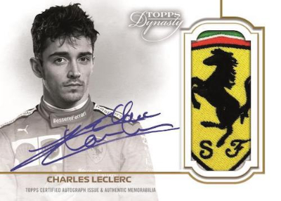 Dynasty Auto Patch Charles Leclerc MOCK UP
