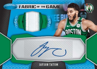 Fabric of the Game Signature Jersey Number Jayson Tatum MOCK UP