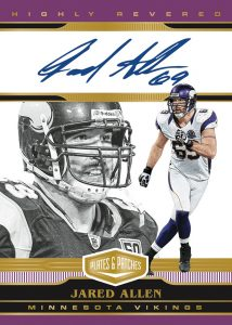 Highly Revered Auto Purple Jared Allen MOCK UP