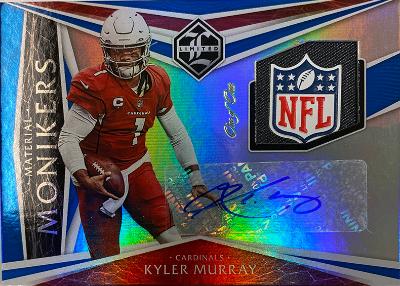 Material Monikers Auto Sapphire Kyler Murray