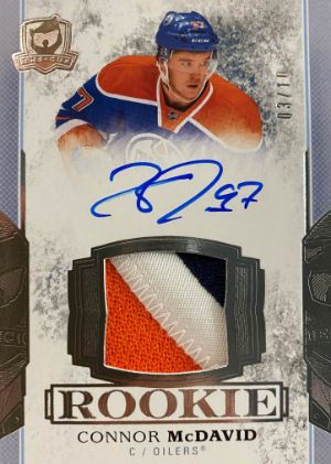 Rookie Tribute 2017-18 Auto Patch Connor McDavid