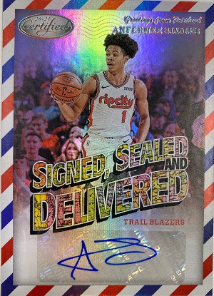 Signed, Sealed, and Delivered Anfernee Simons