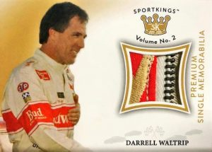 Single Memorabilia Premium Darrell Waltrip MOCK UP