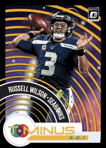 T-Minus 3, 2, 1 Gold Russell Wilson MOCK UP
