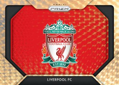 Team Logos Prizm Gold Power Liverpool FC
