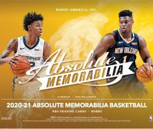2020-21 Panini Absolute Memorabilia Basketball