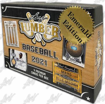 2021 Leaf Lumber Baseball Emerald