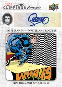 Comic Clippings Auto Jim Steranko MOCK UP