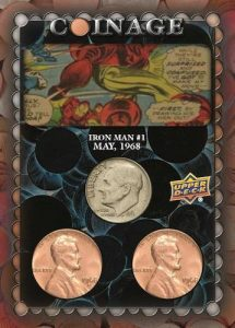 Comic Clippings Coinage Iron Man MOCK UP