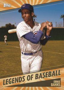 Legends of Baseball Ernie Banks MOCK UP