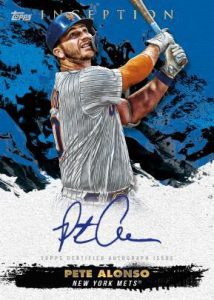 Rookie and Emerging Star Auto Pete Alonso MOCK UP