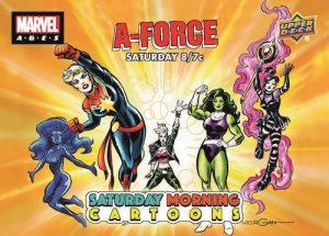 Saturday Morning Cartoons A-Force MOCK UP
