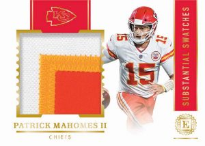 Substantial Swatches Gold Patrick Mahomes II MOCK UP