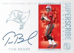 Superscribe Signatures Diamond Tom Brady MOCK UP